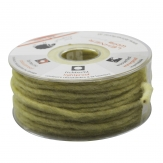 Dochtfaden Wollschnur grün 5mm35m 1Stk