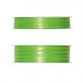 Doppel Satinband grün - hellgrün 50m in zwei Größen