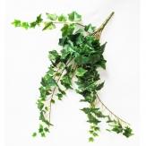 Efeuhänger / Efeubusch 70 cm grün-weiß künstlicher Efeu