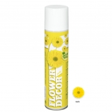 Blumenspray Flower decor gelb 400ml