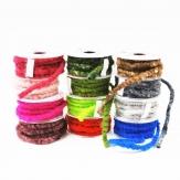 Wollschnur Flauschband Mirabell diverse Farben 10mm7m