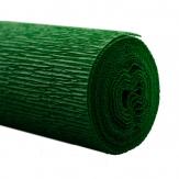 Floristenkrepp grün - dunkelgrün 50x250cm  1Rolle