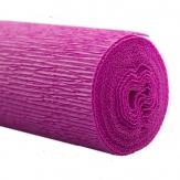 Floristenkrepp pink - dunkelpink 50x250cm  1Rolle