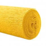 Floristenkrepp gelb 50x250cm  1Rolle