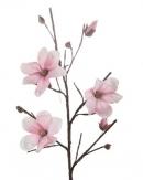 Foam Kunstblume Magnolie rosa 110 cm (1St)