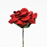 Foam-Rose rot Ø7,5cm 18Stk