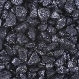 Glitter Dekosteine schwarz 9-13mm Körnung 2kg