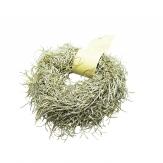 Girlande - Grasgirlande Glitter silber-gold 180cm 1Stk