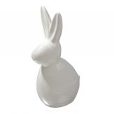 Osterhase Keramik weiß 20cm 1Stk