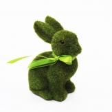 X!Hasen grün bemoost 15x12cm 1Stk