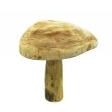 Holzpilz natur zum Hinstellen 38x30x30cm 1Stk