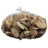 Holzscheiben geweißt 8-10cm 500g
