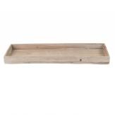 Holztablett natur 60x20cm 1Stk