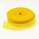 Juteband gelb 50mm40m