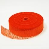 Juteband orange 50mm40m