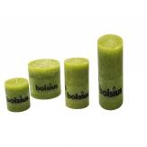 Kerzen grün in verschiedenen Größen 1Stk