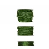 Kordelband - grün in drei Größen