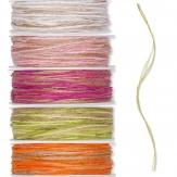 Kordelband Mix Material in verschiedenen Farben 5mm15m