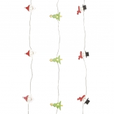LED Tannenbaumkette Batteriebetrieben 20 LEDs indoor 1Stk
