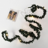 LED Micro Tannengirlande 150cm 10 Lichter 1Stk