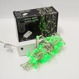 LED-Bündel grün 81 Lichter 100cm