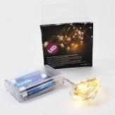 LED dünner Draht Lichterkette 40 Lichter 1Stk