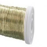 Dekodraht Spule gold (Golddraht) Ø35mm132m