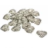 Metallherzen filigran silber 6cm 20Stk