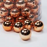 Perlen Ø20mm kupfer metallic 300g  ca.72Stk