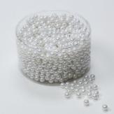 - Deko Perlen weiß in diversen Größen 300g