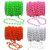 Perlenband in verschiedenen Farben Ø8mm 15m