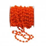 Perlenband orange Ø8mm 15m