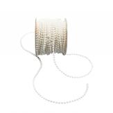 Perlenkette weiß 4mm20m 1Stk