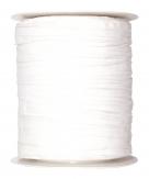 Plissee Taft weiß 100mm10m