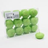 Schwimmkerzen 45mm apfelgrün 24Stk
