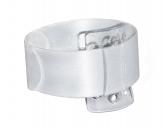 Armband - Snap Band für das Handgelenk weiß 2Stk