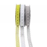 Spitzenband Batist in drei Farben 15mm20m