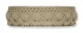 Spitzenband - Häkelspitze taupe 28mm7m 1Stk
