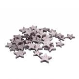 Sterne flieder 4 und 5cm 40Stk