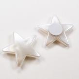Sterne perlmutt selbstklebend 3,5cm 24Stk
