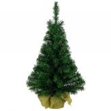 Tannenbaum grün im Jutesack 75cm 1Stk