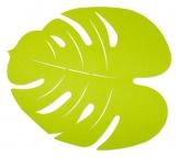 Tischset Blatt hellgrün 37x33cm 1Stk