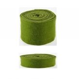 Wollband Lehner Wolle grün-moosgrün in 2 Größen