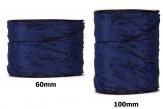 Plissee Taft blau in versch. Breiten 10m