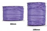 Plissee Taft hell-lila in versch. Breiten 10m