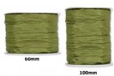 Plissee Taft grün-moosgrün in versch. Breiten 10m