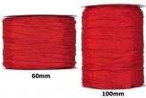 Plissee Taft rot in versch. Breiten 10m