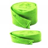 Wollvlies Topfband Lehner Wolle grün-lindgrün in 2 Größen