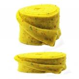 Wollband Konfetti Lehner Wolle gelb in 2 Größen