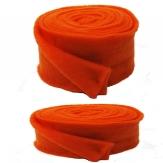 Wollband Lehner Wolle orange-orange in 2 Größen